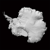 Antarctica hi-res map