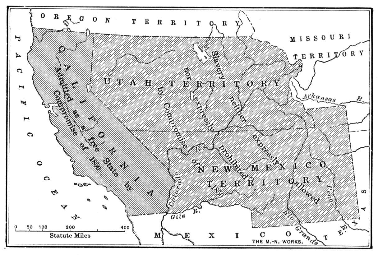 the basic of the compromise of 1850 declaring california as a free state in the us Title: compromise of 1850 my unease in the united states california sets off a great debate the compromise declared california a free state.