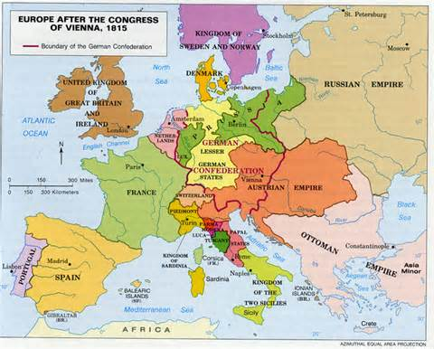 history of german nation after the congress of vienna What was the congress of vienna a new configuration of german states it was the first attempt in history to build a peaceful continental order based on the.