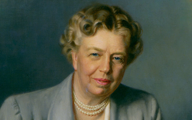 Are there pictures of Eleanor Roosevelt with her husband?