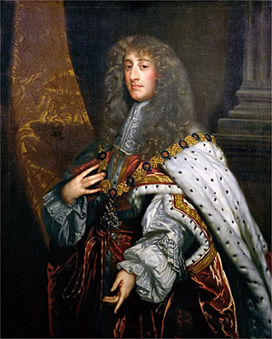 England's King James II