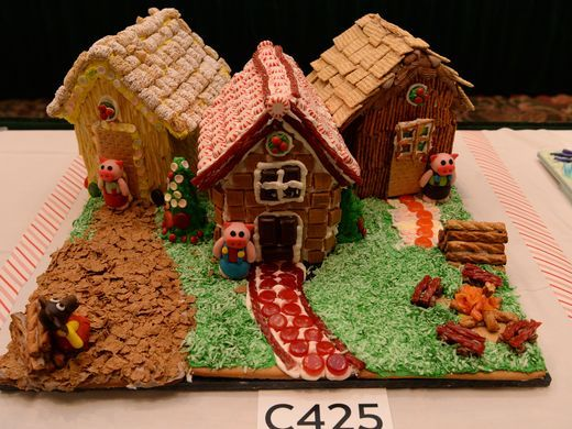 Gingerbread House competition 3 Little Pigs