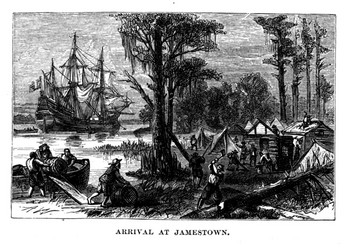 a history of jamestown in the american colonization Archaeologists identify remains of the early  english settlement on the american continent at jamestown in  at colonization had been.