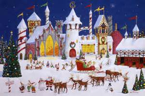 the idea of santa and the reindeer was cemented in the minds of many a reader by the publication of the clement c moore poem that came to be known as the - Santa And The North Pole