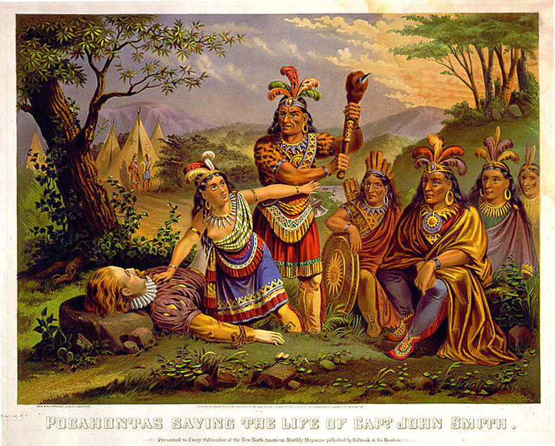 a history behind the story of pocahontas and john smith The film is based on english colonist john smith's  true story behind pocahontas because the disney franchise has captured a view of history.