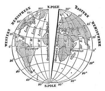 Basic geography the equator and the prime meridian the prime meridian is 0 degrees longitude gumiabroncs Image collections