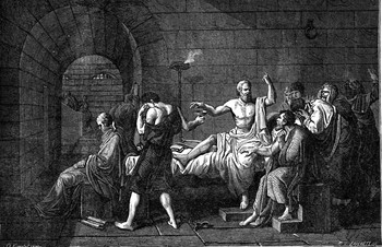 a discussion of the socrates view of death in the phaedo crito and apology Find helpful customer reviews and review ratings for five dialogues: euthyphro, apology, crito, meno, phaedo at amazoncom read honest and unbiased product reviews from our users.
