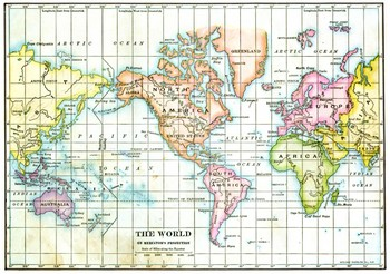 Mercator Map Definition The Mercator Projection
